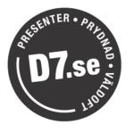 Rabatkoder til D7.se
